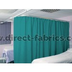Washable Cubicle Curtains Teal