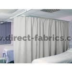 Washable Cubicle Curtains White