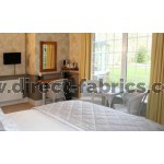 Flame Retardant Odyssey Curtains used for the Hotel Inspector