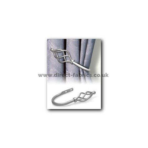 19mm County Crown Holdback Pk2  Silver