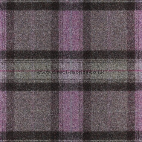 St Andrews Wool FR Fabric Amethyst