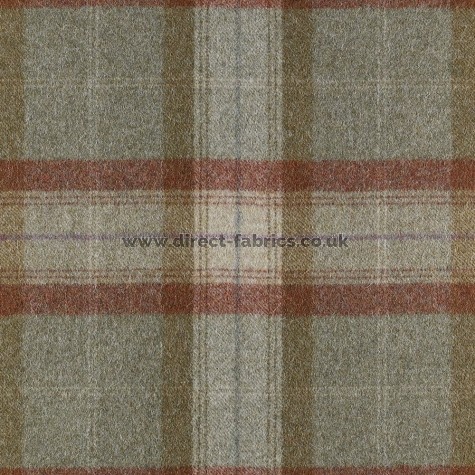 St Andrews Wool FR Fabric Agate