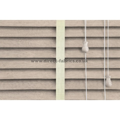 Venetian Blinds Wood Calico Chiffon Ladder Tape