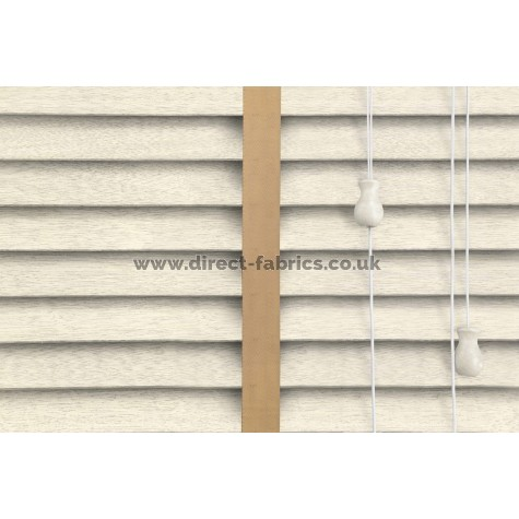 Venetian Blinds Wood Cream Embossed Gold Ladder Tape