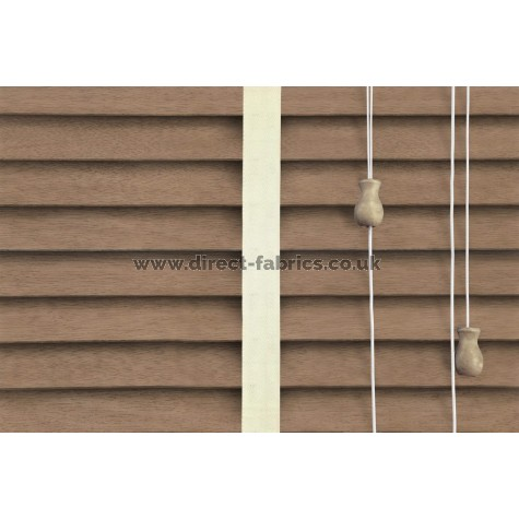 Venetian Blinds Wood Oak Chiffon Ladder Tape