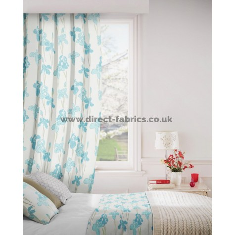 Amelia 134 Sky Fire Resistant Curtains