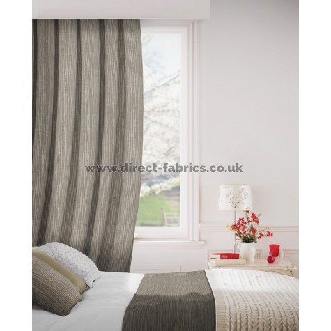 Breeze 835 Hessian Curtains Room Shot Mock up
