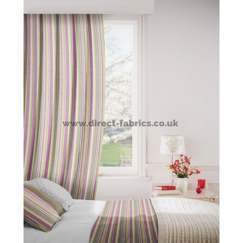 DF Crest Damson Flame Retardant Curtains