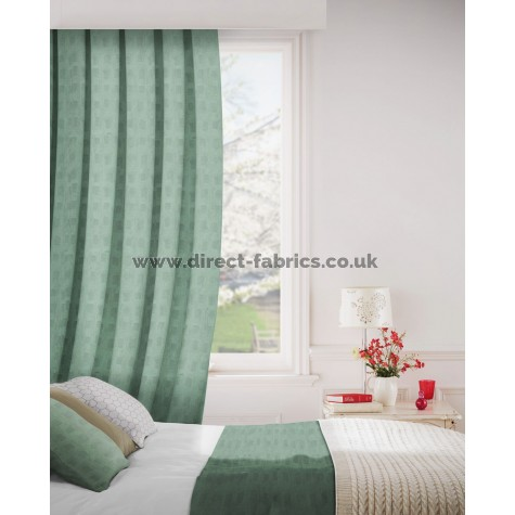 DF Mimic Sage Flame Retardant Curtains
