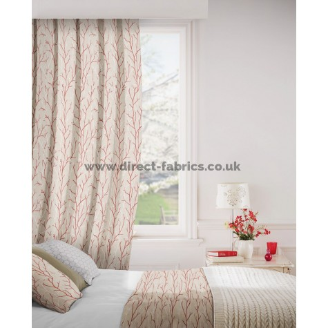 DF Outlook Rouge Flame Retardant Curtains