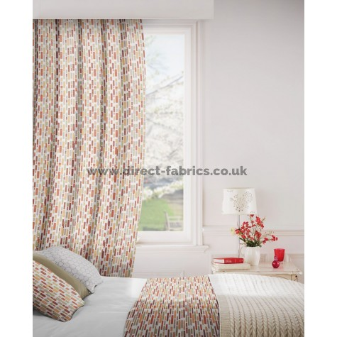 DF Stratosphere Sienna Flame Retardant Curtains