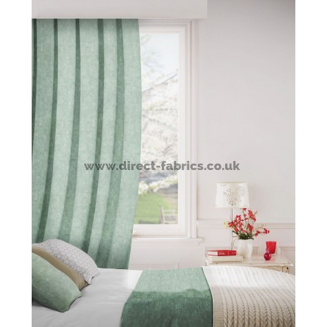 DF Venture Emerald Flame Retardant Curtains