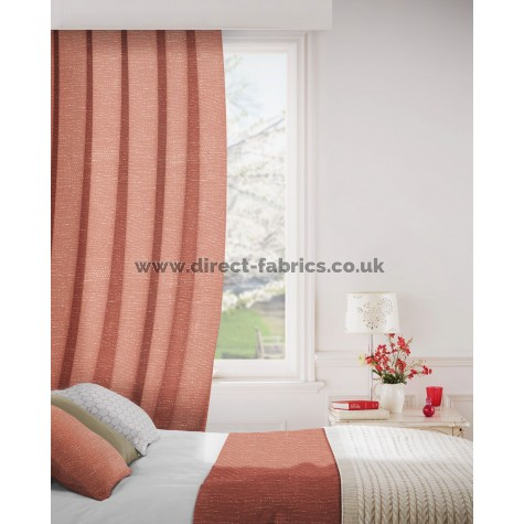 DF Viceroy Terracotta Flame Retardant Curtains