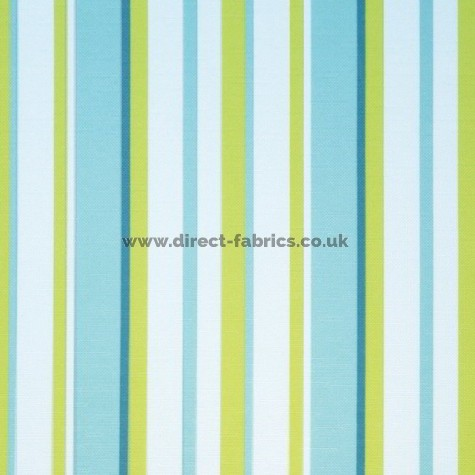 Fiesta 171 Turquoise Lime Fire Resistant roman blinds