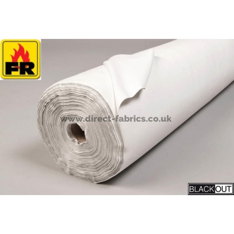 Wide 274cm Blackout Curtain Lining Fire Resistant Lining