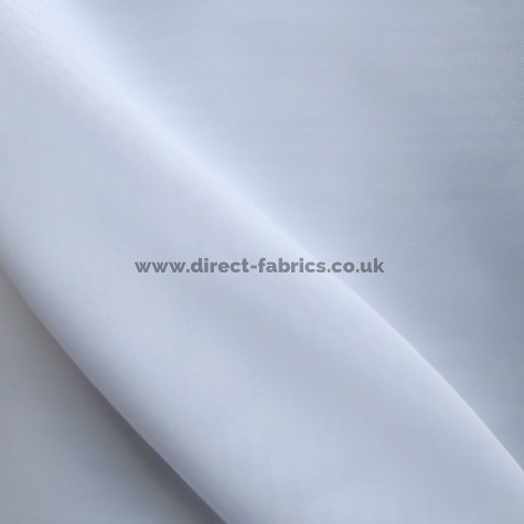 Plain White Flame Retardant Voile