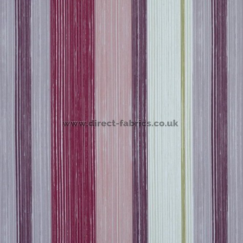 Fresco 481 Damson Fire Resistant roman blinds
