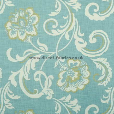 Isabella 134 Sky Fire Resistant Fabric