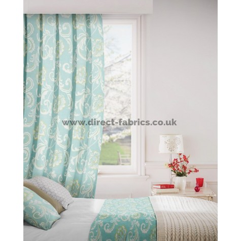 Isabella 134 Sky Curtains Room Shot Mock up