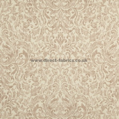 Lawrence 899 Sepia Fire Resistant roman blinds
