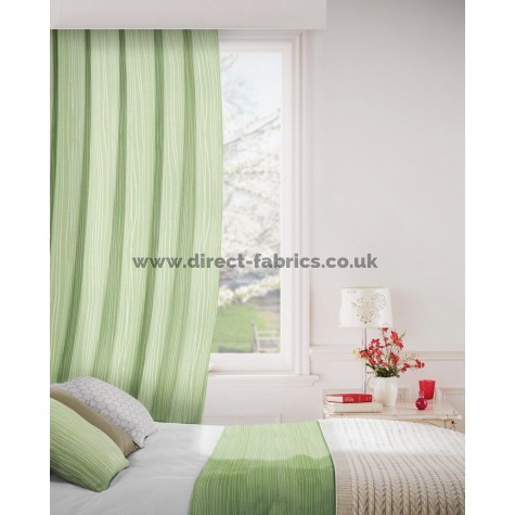 Lexington 205 Sage Green Curtains Room Shot Mock up