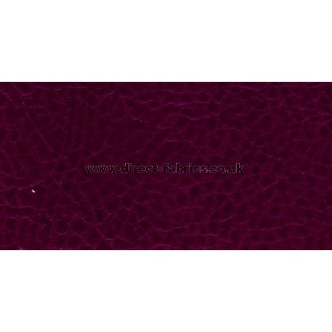 Manhattan Antiques Faux Leather Contract Upholstery 137cm Wide Crib 5 Burgundy