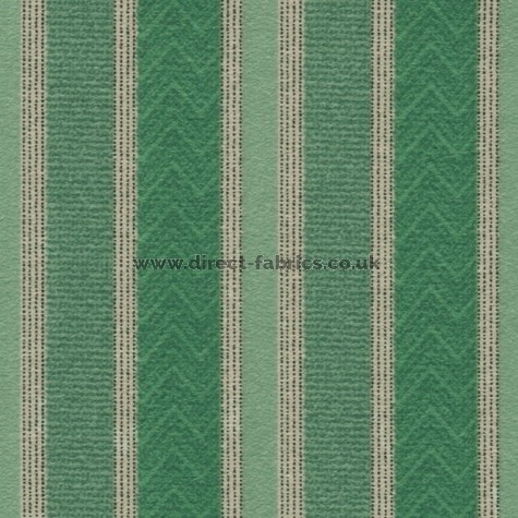 Nobel Stripe 139 Aqua Fire Resistant Roman Blinds Direct