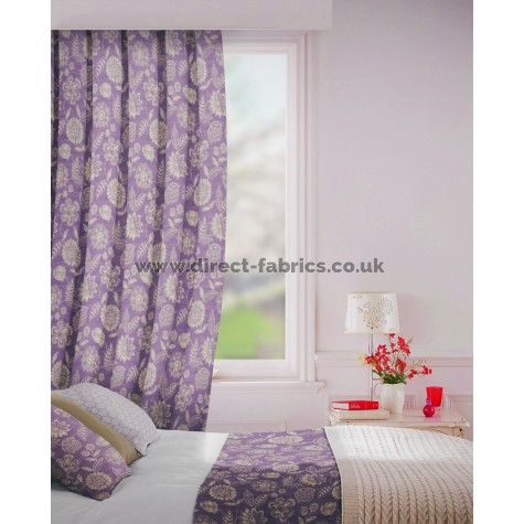 Parnell in Pumice Flame Retardant Curtain