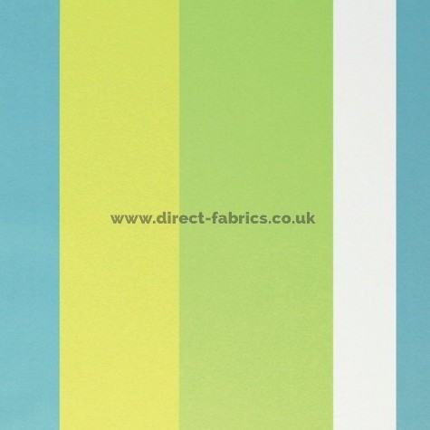 Sierra 171 Turquoise Lime Fire Resistant roman blinds