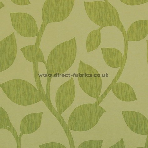 Suburbia 226 Lime Fire Resistant roman blinds