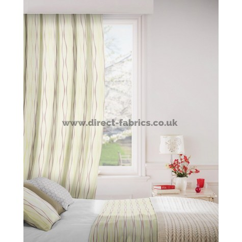 Toro 867 Linen Mulberry Curtains Room Shot Mock up