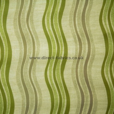 Twist 237 Lime Flax Fire Resistant roman blinds