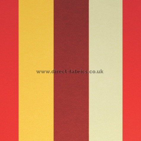 Verano 441 Red Amber Fire Resistant roman blinds