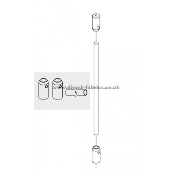 Ceiling Suspension Hanger for cubicle curtain track