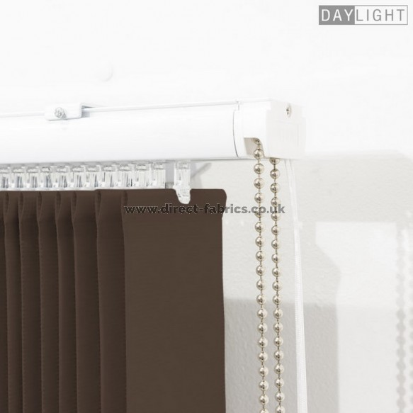 Vertical Blinds Daylight Coffee