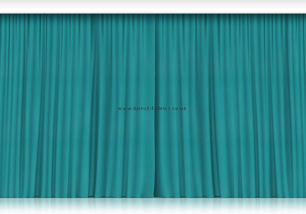 Plain Stage Fire Retardant Curtains Direct Fabrics