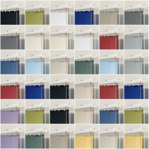 Avon Dimout Vertical Blinds Antibacterial Flame Retardant Dimout 89mm Vanes 16 Colours