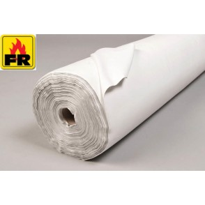 100m Roll Flame Retardant Polyester Lining - 2 Colour Options