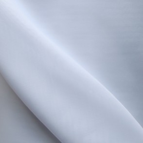 Plain White Voile Flame Retardant Fabric 300cm Wide