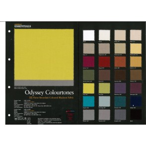 Odyssey 36 Colours Flame Retardant Curtains