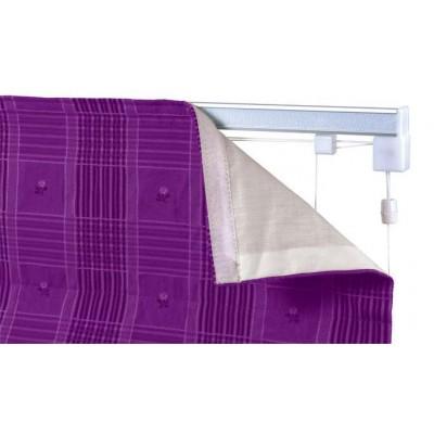 Roman Blind Kit Silver
