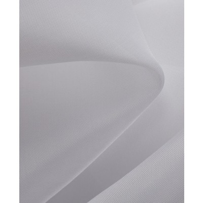 Plain White Sheer FR Voile Curtains