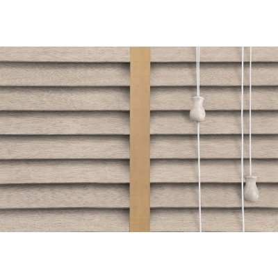 Venetian Blinds Wood Calico Gold Ladder Tape