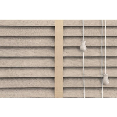 Venetian Blinds Wood Calico Malt Ladder Tape