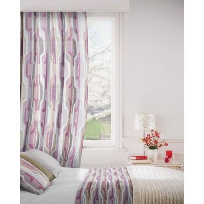 Balance 465 Raspberry Fig Curtains Room Shot Mock up