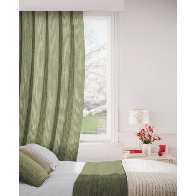 Breeze 208 Fern Green Curtains Room Shot Mock up