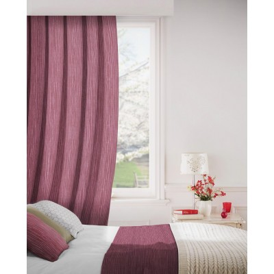 Breeze 615 Berry Curtains Room Shot Mock up