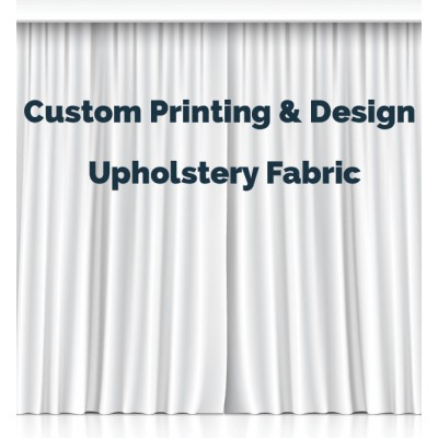 Custom Fabric Design Upholstery Fabric