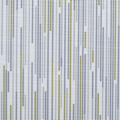 Dash 299 Citrus Charcoal Fire Resistant roman blinds