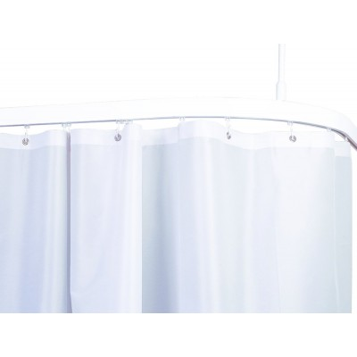 Flame Retardant white shower curtains bs5867